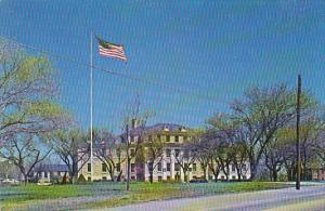 Summerall Hall Post Headquarters Fort Riley Kansas