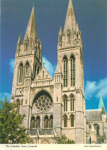England Truro Cathedral Cornwall Postkarte