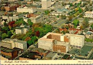 North Carolina Raleigh Aerial View