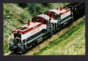 PA Pittsburg & Shawmut Line Train Railroad PENNSYLVANIA