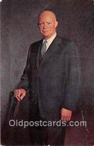 President Dwight D Eisenhower Artist Thomas E Stephens Unused