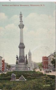 New York Watertown Soldiers and Sailors Monument 1914