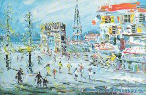 Winter In Paris by Morris Katz
