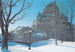 Canada Chateau Frontenac Quebec