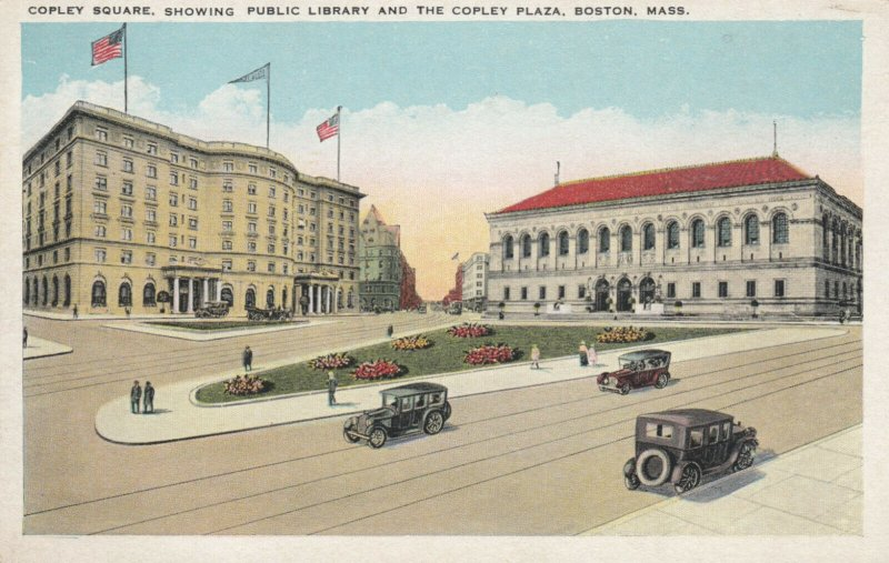 BOSTON, Massachusetts , 00-10s ; Copley Square, Public Library