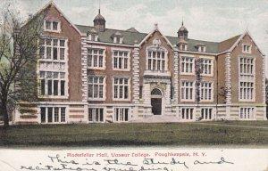 POUGHKEEPSIE, New York, PU-1908; Rockerfeller Hall, Vassar College