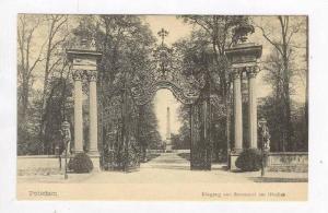 Potsdam, Germany, 00-10s   Eingang von Sanssouci am Obelisk #2