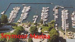 [BC] : Seymour Marina, Okanagan Lake , Vernon , B.C. , Canada , 50-60s