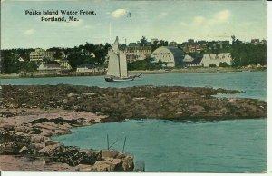 Portland, Me., Peaks Island Water Front Sailing