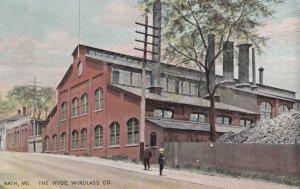BATH , Maine , 1908 ; The Hyde Windlass Company