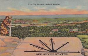 Rock City Gardens Lookout Mountain Chattanooga Tennessee