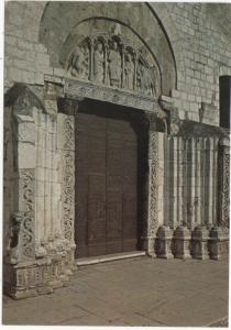 BARLETTA, Portale Sant' Andrea Apostolo, sec. X, unused Postcard