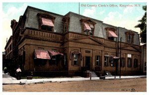 New York  Kingston , Old County Clek's office
