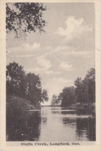 Sinjin Creek , LONGFORD , Ontario , Canada , PU-1924