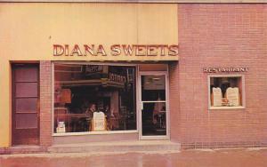 Diana Sweets Restaurant , BROCKVILLE , Ontario , Canada , 50-60s