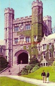 BLAIR HALL, PRINCETON UNIVERSITY, N.J. English Collegiate Gothic architecture