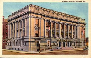 Indiana Indianapolis City Hall Curteich
