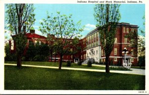 Pennsylvania Indiana Hospital and Mack Memorial 1946 Curteich