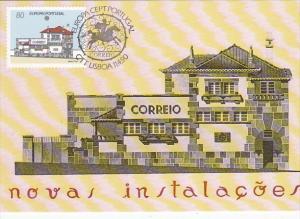 Europa Cept Portugal 1990 Novas Instalacoes
