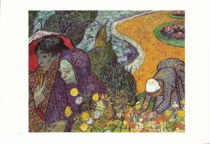 Ladies of Arles by Vincent Van Gogh