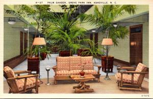 North Carolina Asheville Grove Park Inn Palm Garden