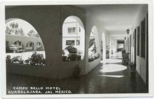 RPPC Campo Bello Motel, Guadalajara, Jal. Mexico,  ????
