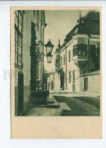 291958 ESTONIA Old NARVA street 1956 year postcard