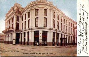 Vtg 1907 French Opera House New Orleans Louisana LA Postcard
