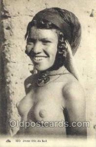 Jeune fille du sud Arab Nude Old Vintage Antique Post Card Post Card  Jeune f...