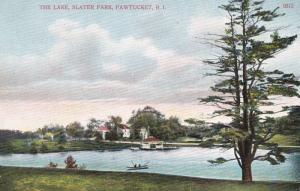 PAWTUCKET , Rhode Island , 00-10s ; The L:ake , Slater Park