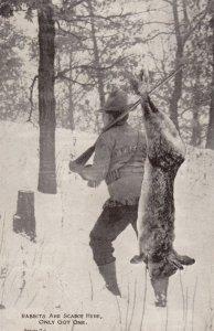 Fantasy Rabbit Hunter, Only Got One , 1913