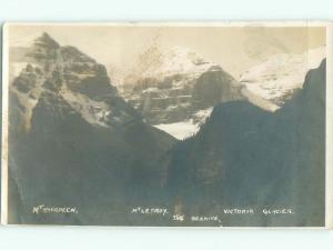 Pre-1920 rppc NICE VIEW Banff National Park Alberta AB W0909