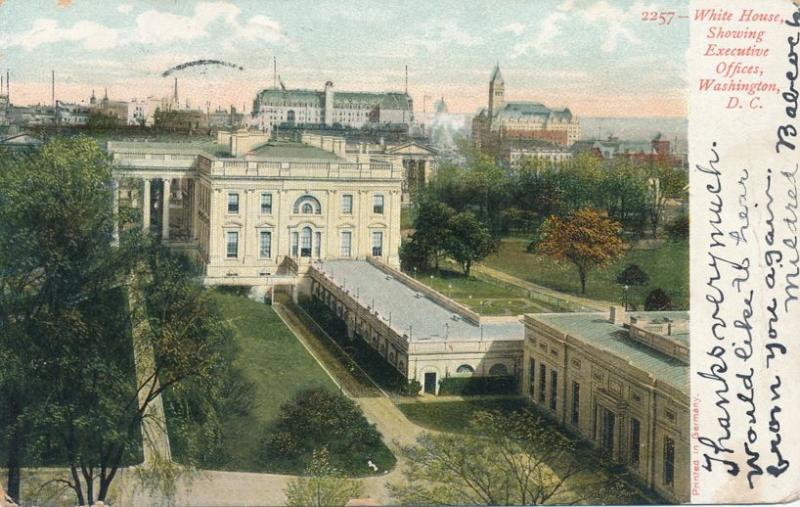 White House and Executive Offices, Washington, DC - DB