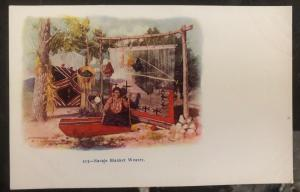 Mint USA Picture Postcard Native American Indian Navajo Blanket Weaver