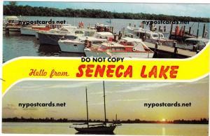 Hello from Seneca Lake