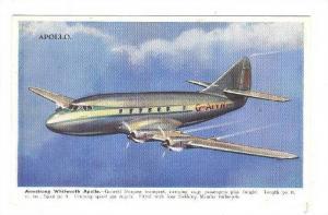 Armstrong Whitworth Apollo airplane, 30-40s