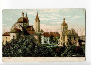 262231 POLAND Plock Cathedral Vintage Apfelbaum postcard