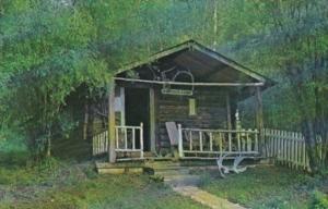 Canada Robert W Service's Cabin Dawson City Yukon