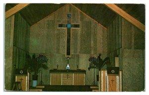 Lutheran Church Camp, Camp Chapel, Clintonville, WI Postcard *6E(2)16