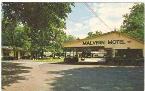 Malvern Motel, Malvern, Arkansas, 1940-1960s