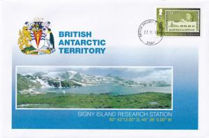 Signy Island Research Station British Antarctic Territory BAT Stamp Rare FDC
