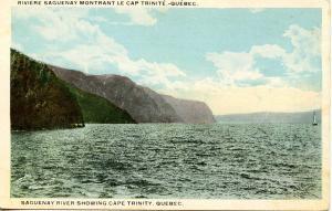 Canada - Quebec, Saguenay River, Cape Trinity