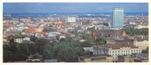 Postcard Latvia Riga hotel Latvia