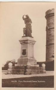 RPPC Flora Macdonald Statue - Inverness, Scotland, United Kingdom