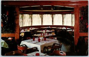 Marengo, Illinois Postcard SHADY LANE FARM & THEATRE Restaurant View c1960s
