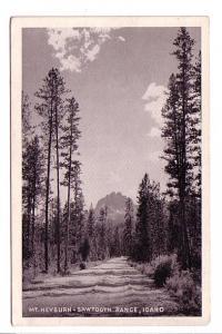 B&W Mount Heyburn, Sawtooth Range, Idaho
