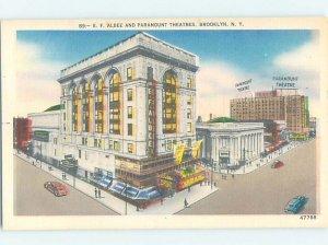 Linen PARAMOUNT THEATER BUILDING Brooklyn - New York City New York NY AE8550
