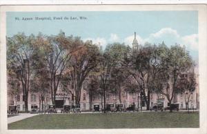 Wisconsin Fond du Lac St Agnes Hospital 1921