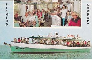 CLEARWATER, Florida, 1940-1960's; The Sea Hawk, Fishing Comfort