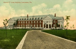 PA - Lancaster. Harry G. Long Asylum